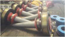 Forged steel crane travelling trolley wheel ZPMC STS TWF 630 650 710 900