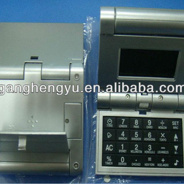 World time calender calculator ,digital foldable calculator