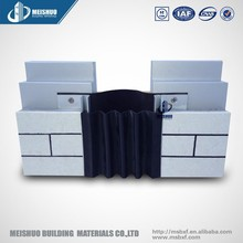 Exterior wall corrugated elastic concrete expansion joint sealant