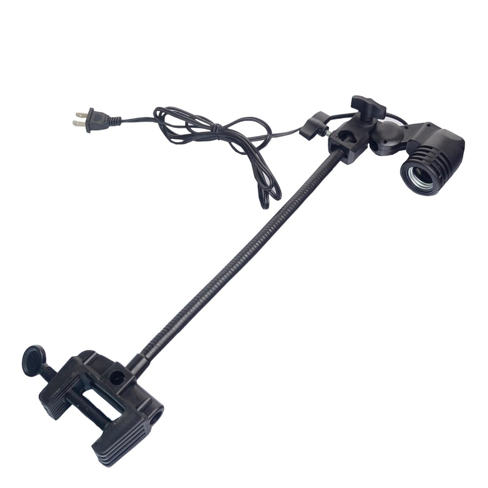 "15"" Heavy Duty Adjustable Light Bulb Holder,Gooseneck Clip for NANO Aquarium Tanks"