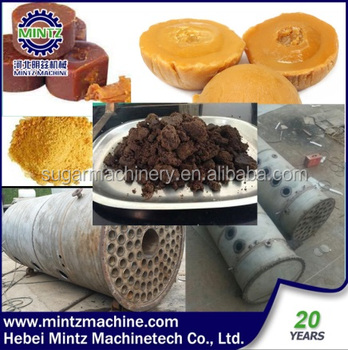 low invest Jaggery Gur powder processing line with small scale