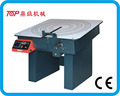 Woven product making machine
