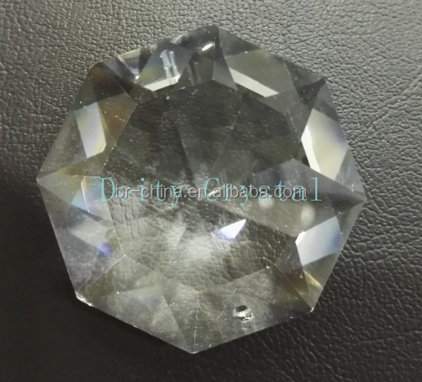 New design Octagonal crystal beads for chandelier