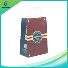 Brown decoration craft paper bag bread paper packaging bag price