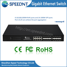 16 ports stable metal case ruggedcom ethernet 16 port gigabit switch