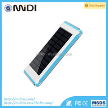 12000mah portable waterproof solar power bank solar for cell phone
