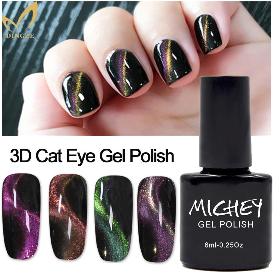 New Global Fashion Gel Nail Polish Of Nail,Cat Eye Color Gel Nail ...