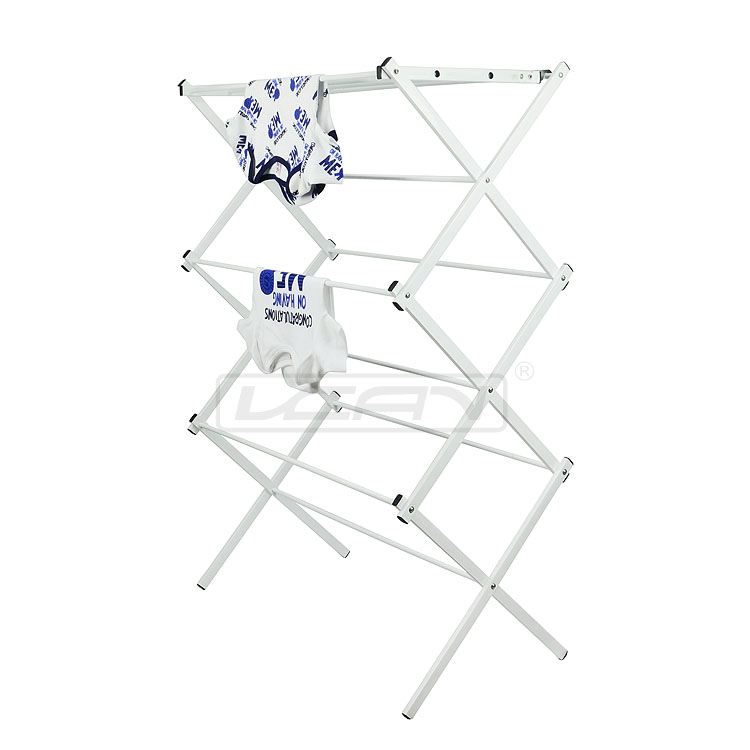 Factory Supply Accordion Clothes Drying Rack Made In China
