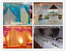 popular star curtains, wedding draperies and curtains, event drapery rental