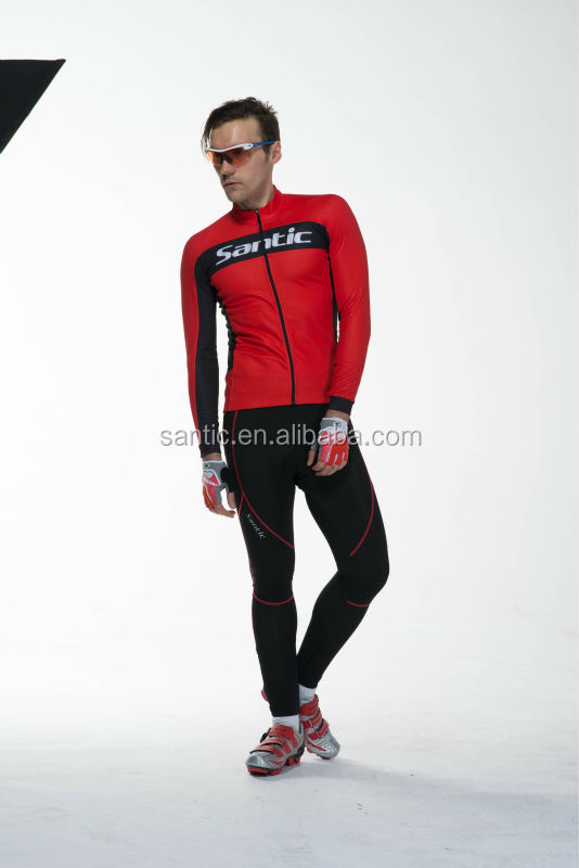 Santic cycling wear OEM service cycling jersey in set