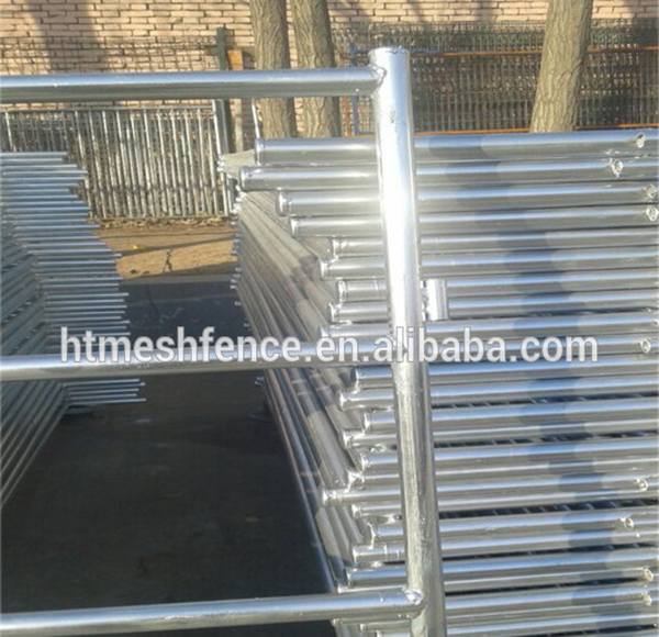 Portable Sheep Yards 2.9m Long 1m High Sheep Panel/ Quick Coupling System Fully Incorporated On Panel