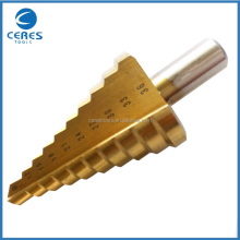 Best price economic hot-sale hex shank hss step drill bits
