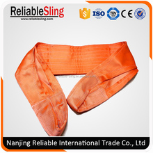 Webbing Sling Flat Belts/Polyester Web Sling adjustable lifting straps