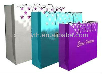 higher quality paper bag accept client's design
