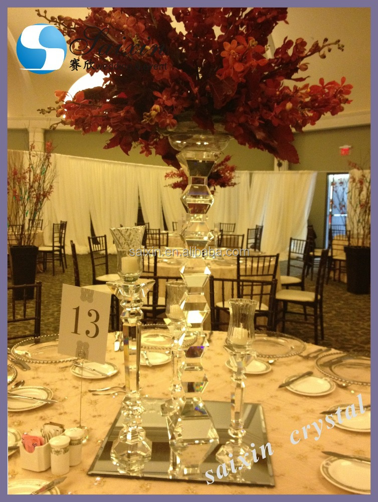 High quality Crystal Centerpieces for Wedding Table ZT-115