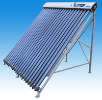 domestic/commercial heat pipe CE/ISO/SK/SRCC/CCC approved solar energy collector