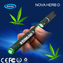 Newest Disposable 400 puffs vaporizer pen Nova Wax D 2014 vaporizer smoking device for wax shatter