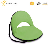 300D PVC Adjustable Folding Floor Chair Floor Seating Chair For Home
