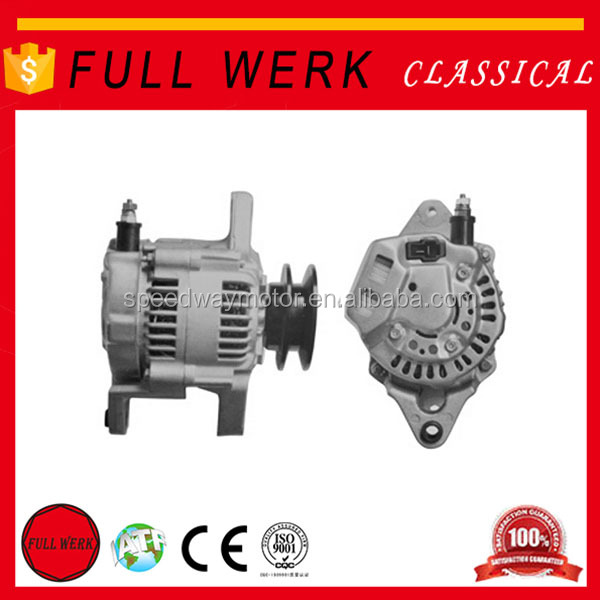 High quality FULL WERK motorcycle alternator 27060-78300,100211-400,12182 car alternator for Nippondenso