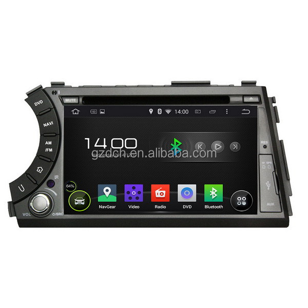 4.4.4 android touch screen car dvd gps for SsangYong Kyron Actyon HD1024*600 quad core 1G+16G optional WS-9261