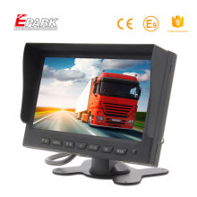 Best selling 7 inch car tft lcd monitor for top camera