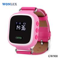 Wonlex GW900 kids gps watch Screen Bluetooth Smartwatch Fitness Tracker /small tracking devices for people