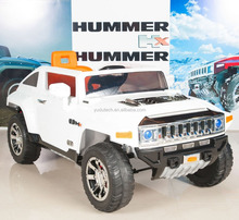 Hummer HX Kids Ride On Truck/Car 12V Powered Wheels with RC Remote Control - White