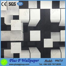 Plus P pvc solid color vinyl wallpaper for project wallpaper