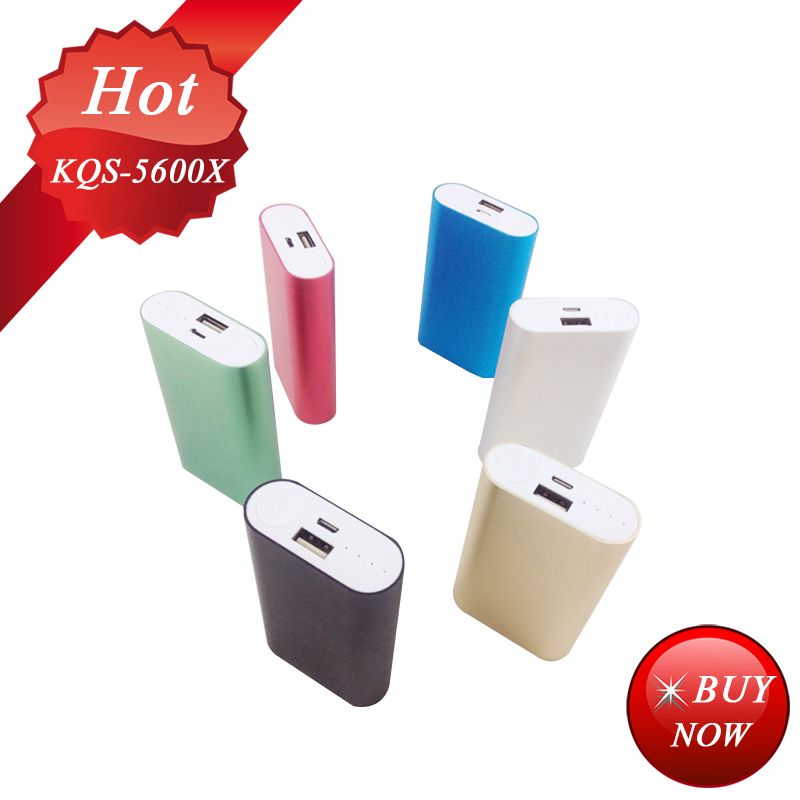 aluminium power bank 5200mah tongfang quality