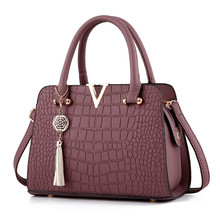 Fashion Atmospheric crossover tote bag,High quality PU cross-bag ladies handbag