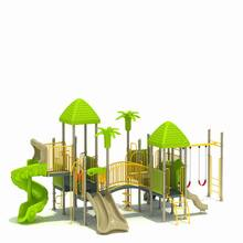 2017 latest product kids outdoor nature theme adventure playground equipment
