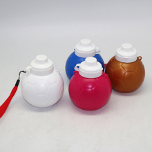high quality the ball shape gift water bottle,compress water bottle