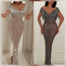 Japanese Sexy Prom Dress in Silver Hup Classy Evening Dress