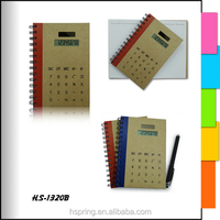 Diary Organizer Notebook with Calculator&Pen