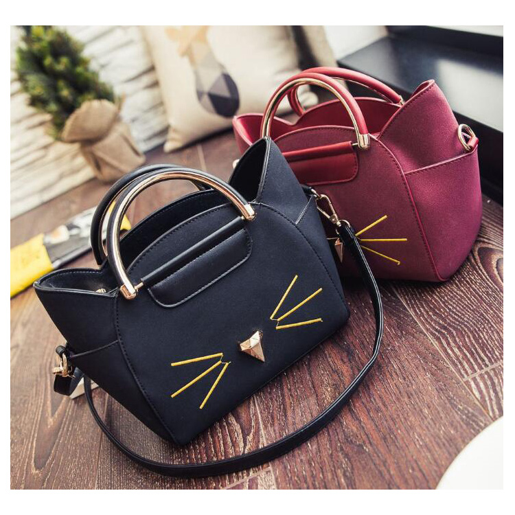New Fashion Girls Ladies Women Cute PU Leather Handbags