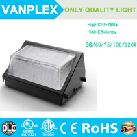 120W Mean Well Power supply LED wall packs of high quality for 5 years warranty