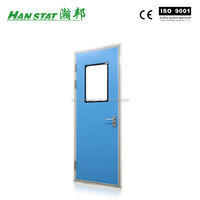 Powder Coated Aluminum Fire Proof Door