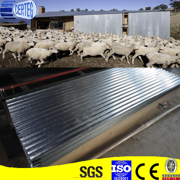 chinese cheap metal roof corrugated galvanized steel roofing sheet