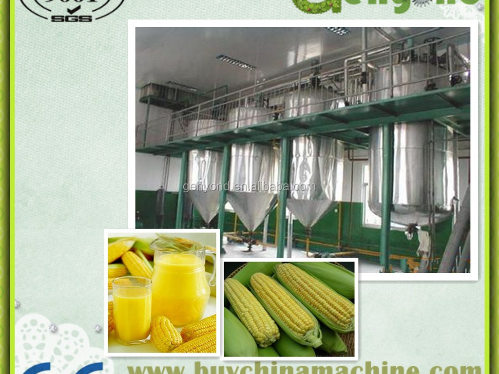 2014 energy-saving small capacity corn juice production <strong>line</strong>