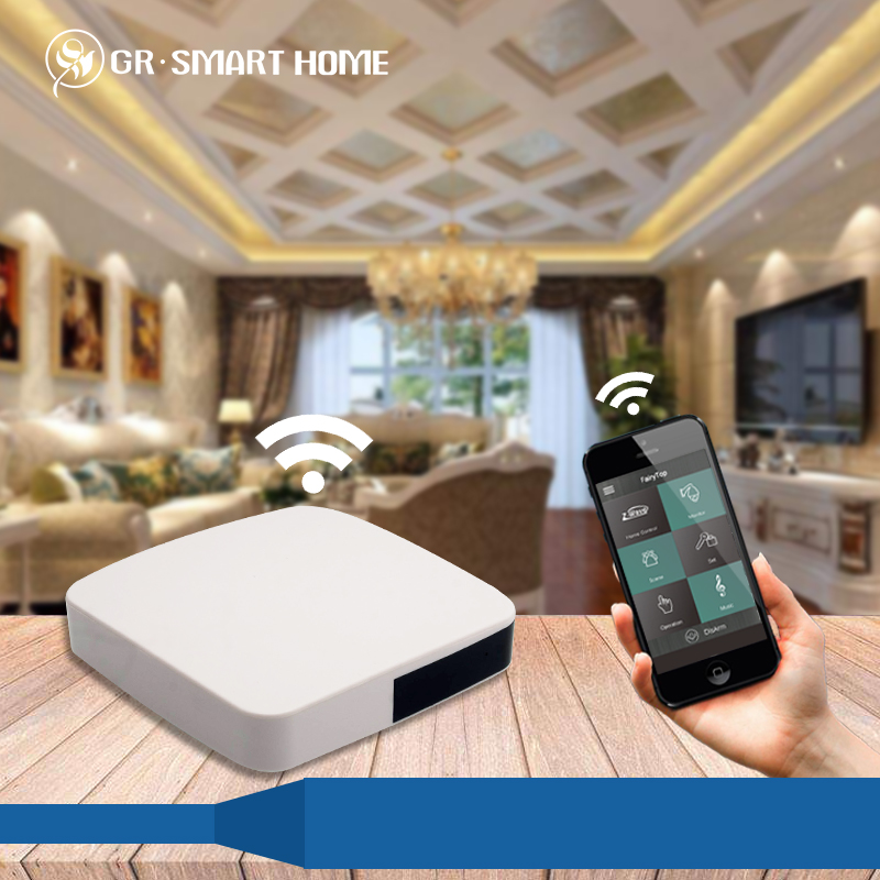 GR Z-wave controller for universal remote control intelligent gateway smart home application
