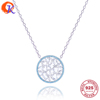 925 Sterling Silver Cubic Zirc Pendant