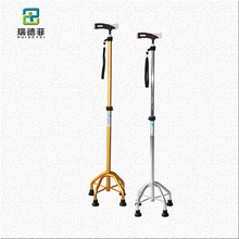 Old People Walking Sticks And Canes ,6 Led Light For The Disabled Walking Cane,Elderly Care Products Folding Stool