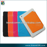 flip pu+pc leather case for ipad mini
