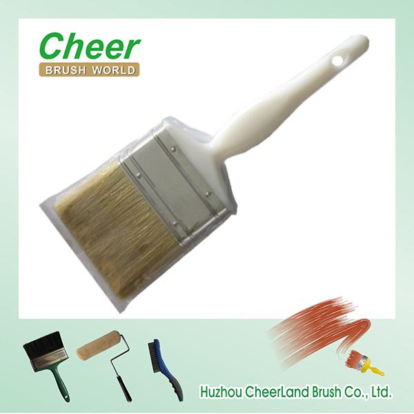 China Factory Innovative Soft Rubber Handle Angle Paint Brush