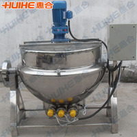 quality jacketed kettle for meat cooking