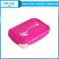 Large new square soild Bento Plastic Lunch Box container
