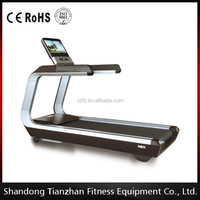 Touched Screen with TV&online Treadmill machine /Body Building Equipment