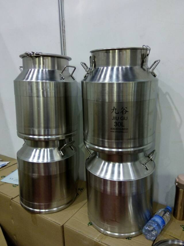 30l food grade 304 stainless steel cooking oil bucket