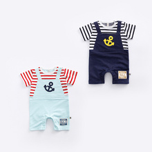 Baby Clothing Wholesale Plain Crochet Unisex Baby Infant Romper From China
