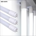 Hot Selling Milky Glass Tube 0.6M 2FT 6500K 220V 9W T8 LED Light for indoor lighting